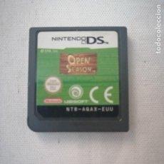 Videojuegos y Consolas: JUEGO NINTENDO DS. OPEN SEASON (SOLO EL JUEGO SIN CAJA NI INSTRUCCIONES).. Lote 199528171