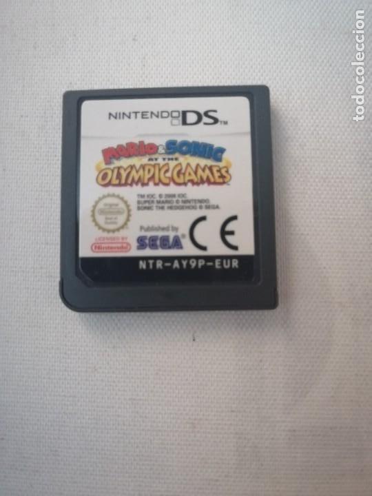 JUEGO NINTENDO DS. MARIO & SONIC AT THE OLIMPIC GAMES (SOLO EL JUEGO SIN CAJA NI INSTRUCCIONES). (Juguetes - Videojuegos y Consolas - Nintendo - DS)