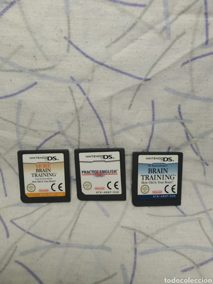 Videojuegos y Consolas: 3 juegos nintendo DS - Foto 2 - 200028318