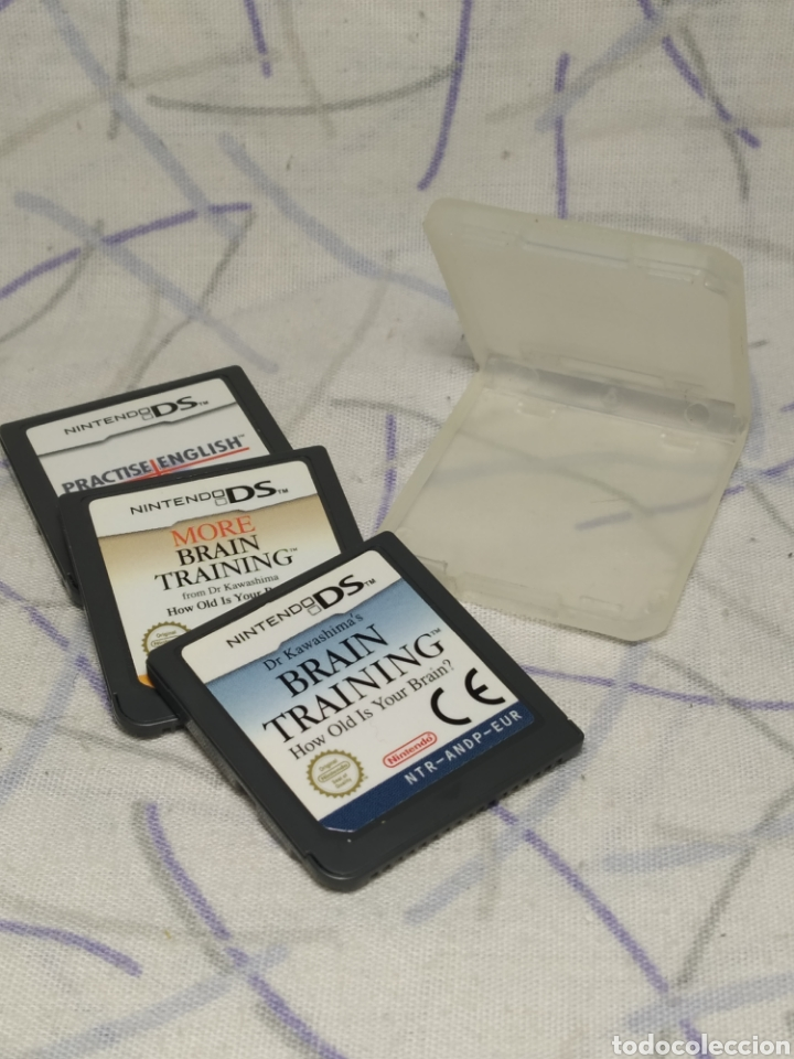 3 JUEGOS NINTENDO DS (Juguetes - Videojuegos y Consolas - Nintendo - DS)