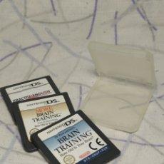 Videojuegos y Consolas: 3 JUEGOS NINTENDO DS. Lote 200028318