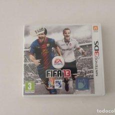 Videojuegos y Consolas: NINTENDO 3DS, FIFA 13. Lote 200821107