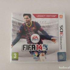 Videojuegos y Consolas: NINTENDO 3DS, FIFA14. Lote 200822180