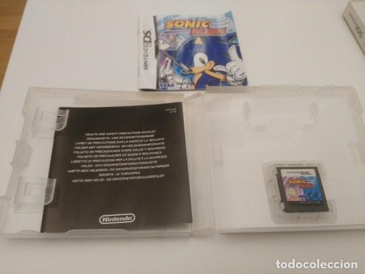 Videojuegos y Consolas: Sonic Rush para la Nintendo DS y DS Lite, DSi, 3DS Completo - Foto 2 - 201265703