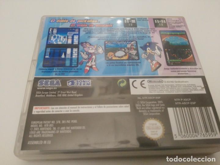 Videojuegos y Consolas: Sonic Rush para la Nintendo DS y DS Lite, DSi, 3DS Completo - Foto 3 - 201265703