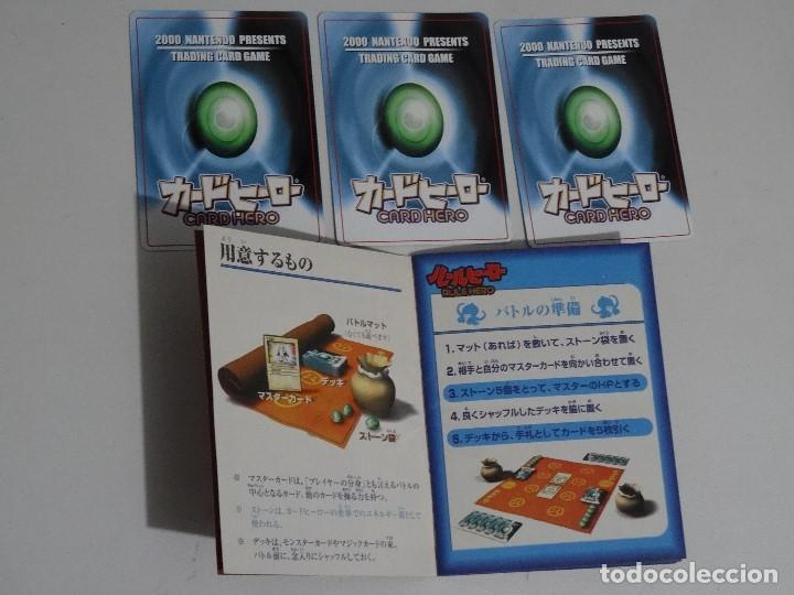 Videojuegos y Consolas: NINTENDO Card Hero Official Guide Book Japonés + 3 Cartas Nintendo - Foto 2 - 201791176