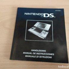 Videojuegos y Consolas: 08-00354 - MANUAL DE INSTRUCCIONES , NINTENDO DS. Lote 201929785