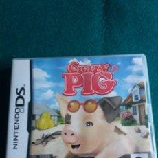 Videojuegos y Consolas: JUEGO NINTENDO DS CRAZY PIG SIN MANUAL. Lote 203389273