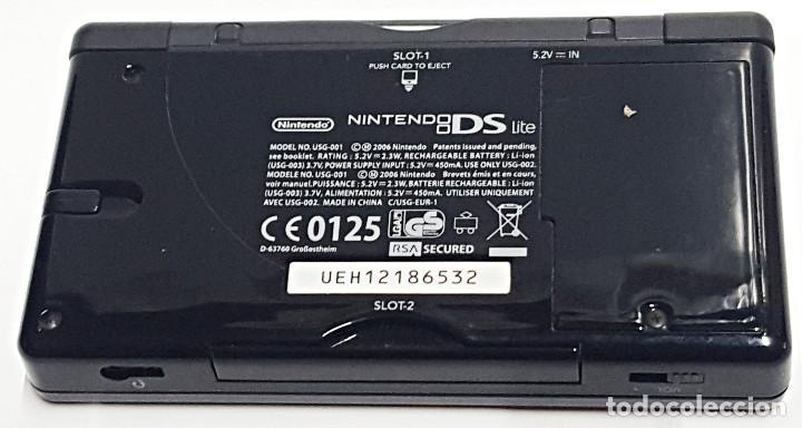 Videojuegos y Consolas: Consola NINTENDO DS LITE. Con cargador y juego BRAIN TRAINING - Foto 4 - 204060477