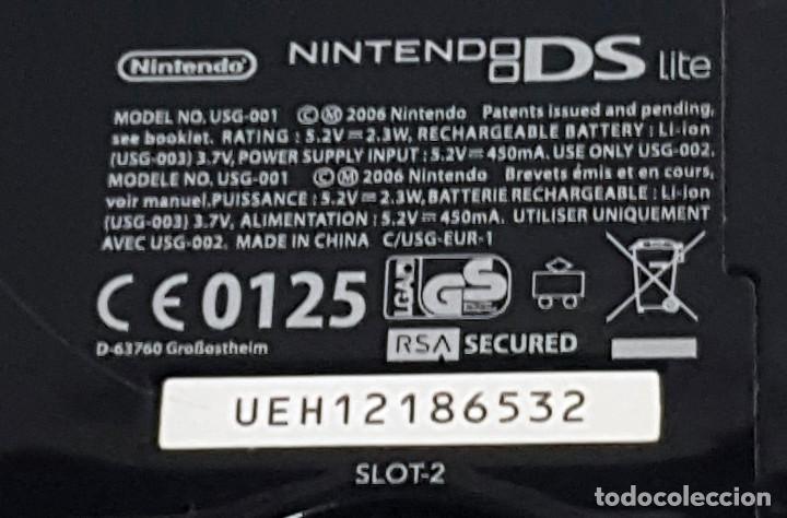 Videojuegos y Consolas: Consola NINTENDO DS LITE. Con cargador y juego BRAIN TRAINING - Foto 5 - 204060477