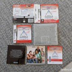 Videojuegos y Consolas: SOLO CAJA INSTRUCCIONES NINTENDO DS PRACTISE IN ENGLISH. Lote 204085851