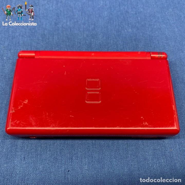 CONSOLA NINTENDO DS LITE ROJA - SIN CABLE - SOLO LA CONSOLA - PROBADA - SI FUNCIONA (Juguetes - Videojuegos y Consolas - Nintendo - DS)
