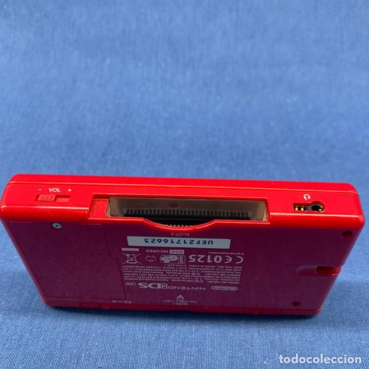 Videojuegos y Consolas: CONSOLA NINTENDO DS LITE ROJA - SIN CABLE - SOLO LA CONSOLA - PROBADA - SI FUNCIONA - Foto 4 - 204814046