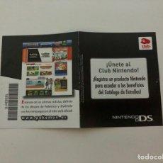 Jeux Vidéo et Consoles: POKEMON NEGRA, TARJETA PUNTOS CLUB NINTENDO, NUEVA POR RASCAR. Lote 204830338