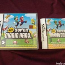 Videojuegos y Consolas: SUPER MARIO BROS, NINTENDO DS. CAJA Y MANUAL. Lote 205441717