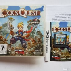 Videojuegos y Consolas: LOCK'S QUEST NINTENDO DS. Lote 205443822