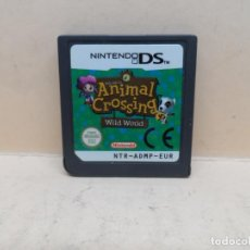 Videojuegos y Consolas: NINTENDO DS ANIMAL CROSSING WILD WORLD PAL ESP. Lote 205475500
