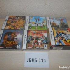 Videojuegos y Consolas: DS - PACK DE 6 JUEGOS VARIADOS , EDICIONES ESPAÑOLAS. Lote 205699606