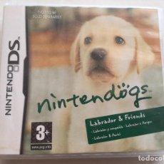 Videojuegos y Consolas: JUEGO NINTENDO DS NINTENDODOGS LABRADOR & FIRENDS. CAJA Y JUEGO EN BUEN ESTADO. SIN MANUAL. Lote 205862137