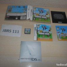Videojuegos y Consolas: DS - NEW SUPER MARIO BROS , PAL ESPAÑOL , COMPLETO. Lote 206156335