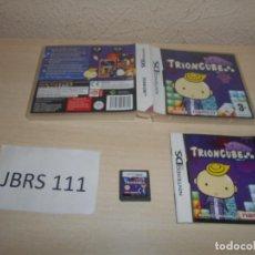 Videojuegos y Consolas: DS - TRIONCUBE , PAL ESPAÑOL , COMPLETO. Lote 206156378