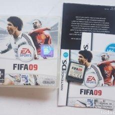 Videojuegos y Consolas: FIFA 09 NINTENDO DS. Lote 206208172