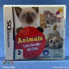 Videojuegos y Consolas: VIDEOJUEGO - NINTENDO DS - ANIMALZ UNA FAMILIA DE CATS - SOLO CARÁTULA E INSTRUCCCIONES. Lote 206256663