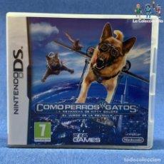 Videojuegos y Consolas: VIDEOJUEGO - NINTENDO DS - COMO PERROS Y GATOS - SOLO CARÁTULA E INSTRUCCCIONES. Lote 206257683