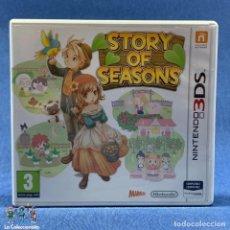 Videojuegos y Consolas: VIDEOJUEGO - NINTENDO 3DS - STORY OF SEASONS - SOLO CARÁTULA E INSTRUCCIONES. Lote 206261481