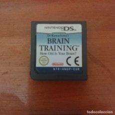 Videojuegos y Consolas: BRAIN TRAINING NINTENDO DS CARTUCHO. Lote 206327541