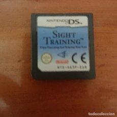 Videojuegos y Consolas: SIGHT TRAINING NINTENDO DS CARTUCHO. Lote 206394912