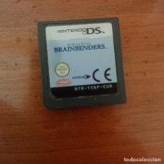 Videojuegos y Consolas: BRAINBENDERS NINTENDO DS CARTUCHO. Lote 206396308
