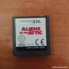 Videojuegos y Consolas: ALIENS IN THE ATTIC NINTENDO DS CARTUCHO. Lote 206423937