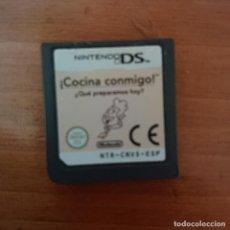 Videojuegos y Consolas: COCINA CONMIGO NINTENDO DS CARTUCHO. Lote 206424138