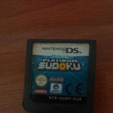 Videojuegos y Consolas: SUDOKU PLATINUM NINTENDO DS CARTUCHO. Lote 206487123