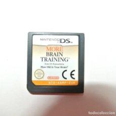 Videojuegos y Consolas: JUEGO MORE BRAIN TRAINING NINTENDO DS. Lote 207720316