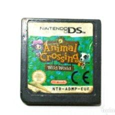 Videojuegos y Consolas: JUEGO ANIMAL CRROSSING WILD WORLD NINTENDO DS. Lote 276403358