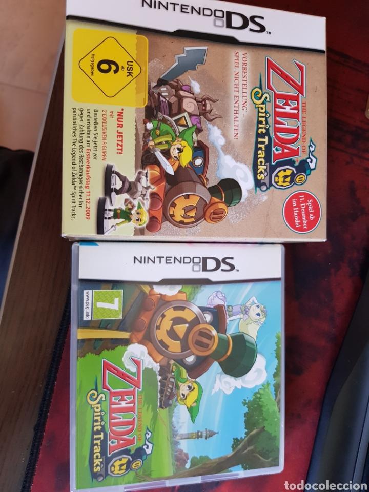 ZELDA SPIRIT TRACKS (Juguetes - Videojuegos y Consolas - Nintendo - DS)