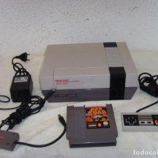 Videojuegos y Consolas: CONSOLA NINTENDO NES COMPLETA. Lote 210612590