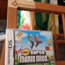 Videojuegos y Consolas: NEW SUPER MARIO BROS NINTENDO DS (COMPLETO). Lote 210740925