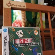 Videojuegos y Consolas: 42 JUEGOS DE SIEMPRE NINTENDO DS. Lote 210741256
