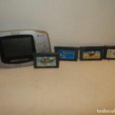 Videojuegos y Consolas: CONSOLA NINTENDO DS Y 5 JUEGOS,REGALADO. Lote 210779179