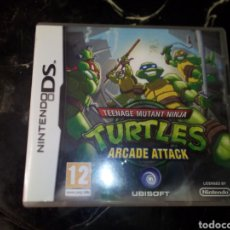 Videojuegos y Consolas: CAJA VACIA DE NINTENDO DS TURTLES ARCADE ATTACK. Lote 210833602