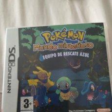 Videojuegos y Consolas: POKEMON MUNDO MISTERIOSO EQUIPO DE RESCATE AZUL DS. Lote 210948114