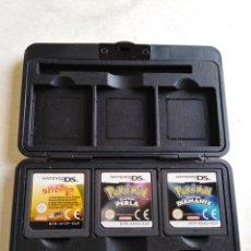 Videojuegos y Consolas: LOTE DE 3 JUEGOS NINTENDO, POKEMON Y FIFA STREET 2. Lote 211662824