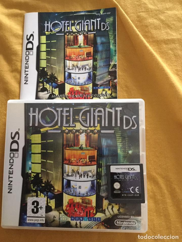 JUEGO DE NINTENDO DS HOTEL GIANT DS (Juguetes - Videojuegos y Consolas - Nintendo - DS)