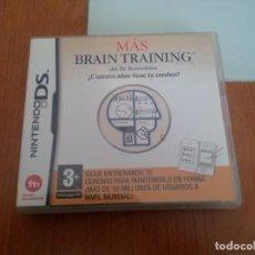 Videojuegos y Consolas: JUEGO MÁS BRAIN TRAINING. Lote 211729454