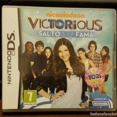 Videojuegos y Consolas: VICTORIOUS SALTO A LA FANA + INSTRUCCIONES. Lote 213713612
