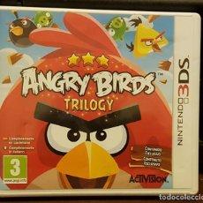 Videojuegos y Consolas: ANGY BIRDS TRILOGY + FOLLETO INSTRUCCIONES. Lote 213713712