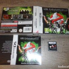 Videojuegos y Consolas: NINTENDO DS LOS CAZAFANTASMAS PAL ESP COMPLETO. Lote 214106857